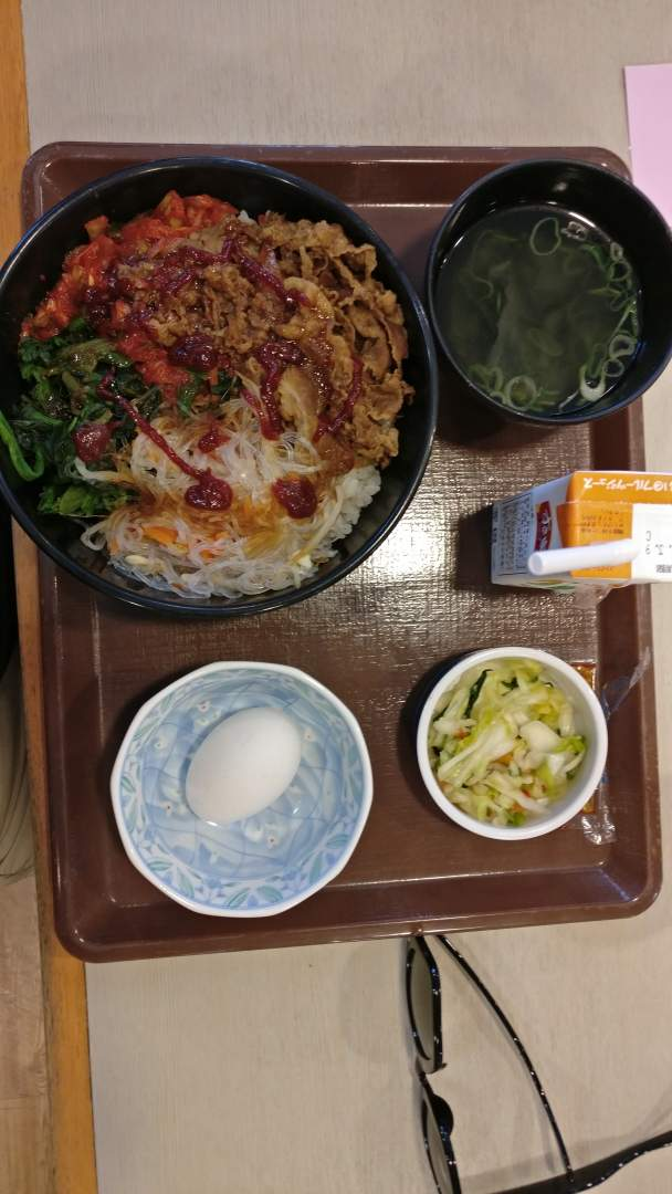 Bibimbap lunch
