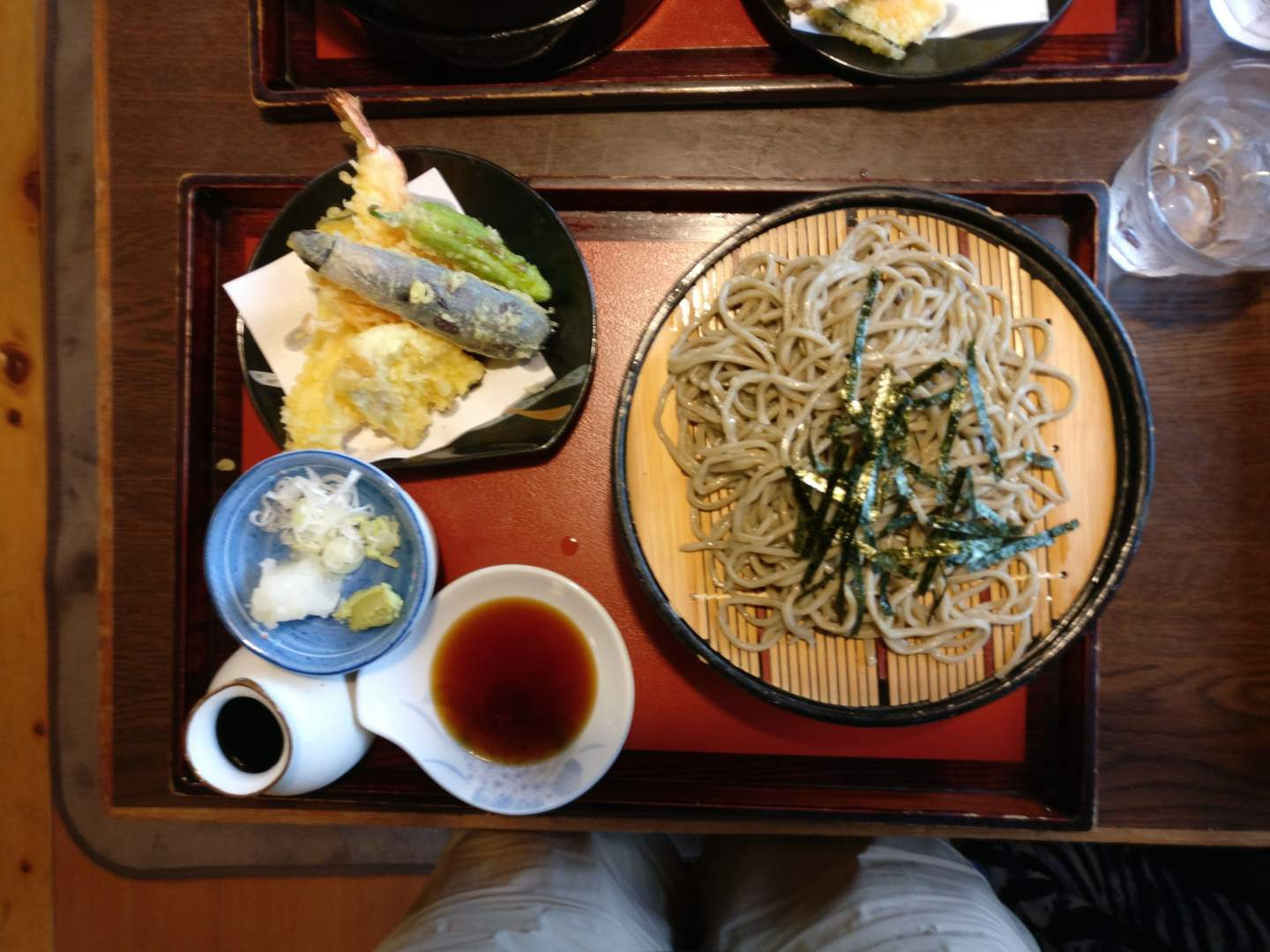 Kiso-Fukishima Soba lunch