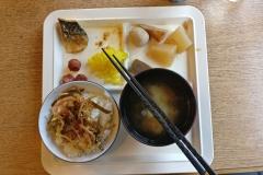 Imabari hotel ontbijt
