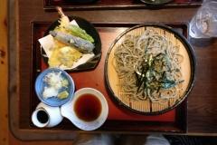 Kiso-Fukishima Soba lunch