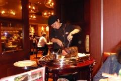 Rosbief Steakhouse snijden