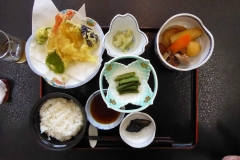 Tempura lunch